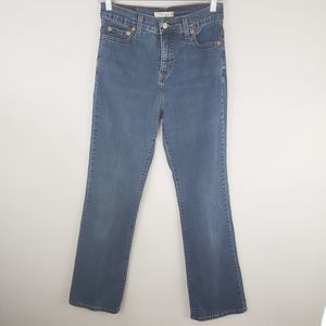 Levi's 512 Perfectly Slimming Boot Cut Jeans Sz 4M